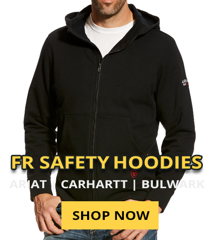 fr fire resistant hooded sweatshirts on sale