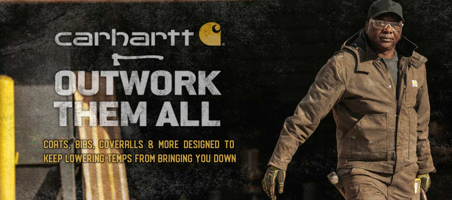carhartt bibs coveralls coats winter warm on sale
