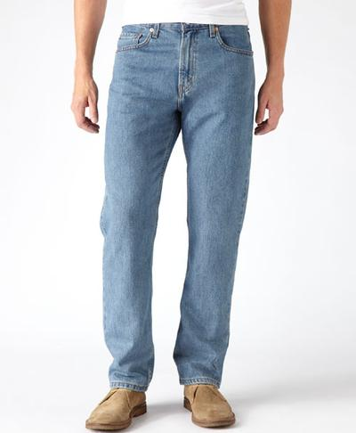 Levis Straight Fit 505 ® Jeans - Med Stonewash