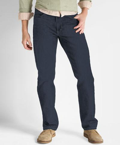 Levis Straight Fit 505 ® Jeans - Rinsed Indigo