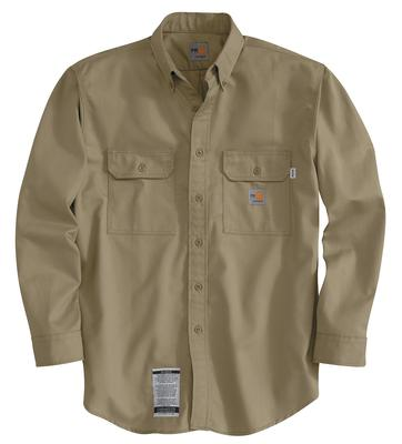 Carhartt Frs160 Twill Shirt With Pocket Flaps