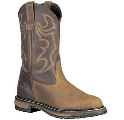 Rocky Boots 6732 Steel Toe Branson Roper