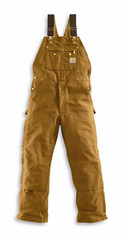 Carhartt R37 Zip- To- Hip Duck Bib Overall