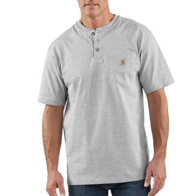 Carhartt K84 Short Sleeve Workwear Henley