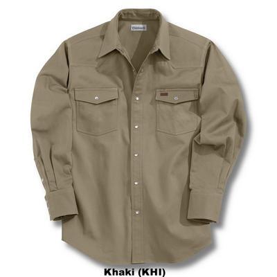Carhartt S209 Snap Front Twill Shirt