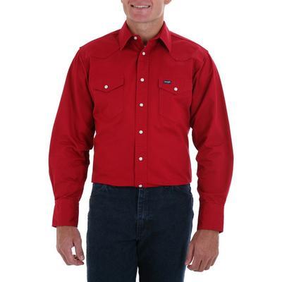 Wrangler ® Mw9291r Western Twill Shirt