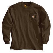 Carhartt K126 Long Sleeve Workwear T-Shirt DKB