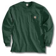 Carhartt K126 Long Sleeve Workwear T-Shirt HTG