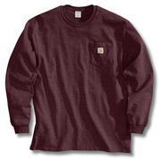 Carhartt K126 Long Sleeve Workwear T-Shirt PRT