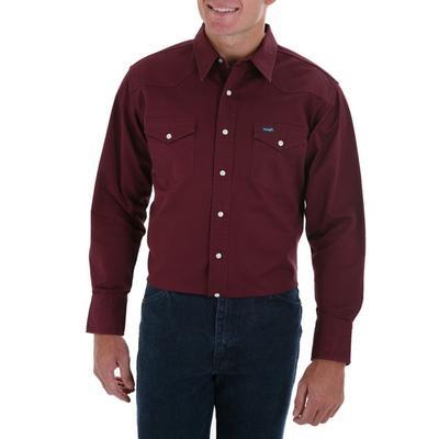 Wrangler ® Ms70719 Western Twill Shirt