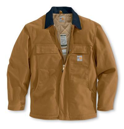 Carhartt Frc066 Duck Coat/Quilt- Lined