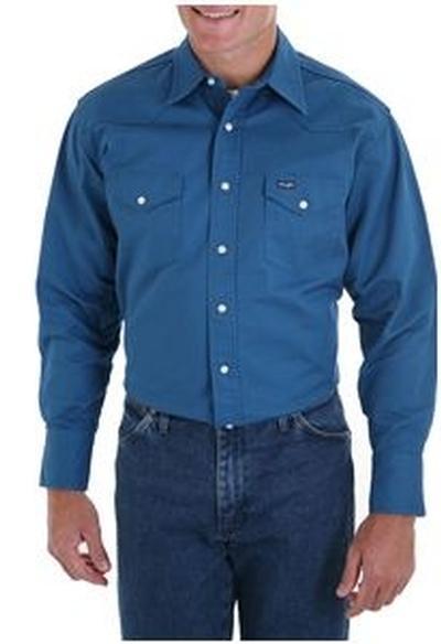 Wrangler ® Ms71419 Western Twill Shirt