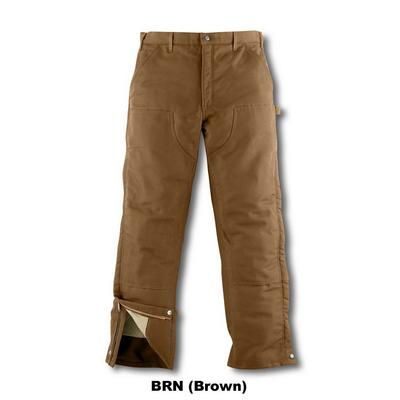 Carhartt Frb194 Insulated Duck Over Pant