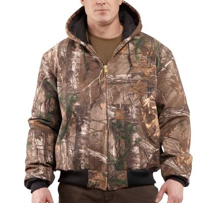 Carhartt J221 Workcamo ® Quilted- Flannel Lined