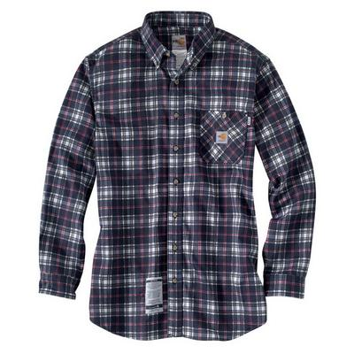 Carhartt 100168 Flame- Resistant Work- Dry ® Plaid Shirt