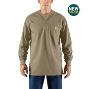 Carhartt 100237 Mens' Force Cotton Henley 250
