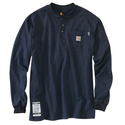 Carhartt 100237 Mens ' Force Cotton Henley