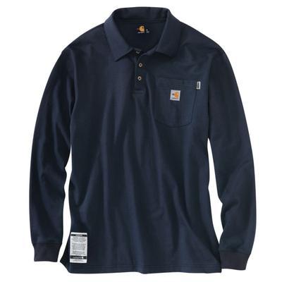 Carhartt 100238 Mens ' Fr Polo Henley Shirt