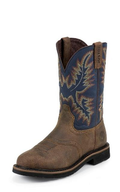 Justin Wk4666 Copper Kettle Rowdy Steel Toe