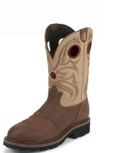 Tony Lama Rr3210 Steel Toe