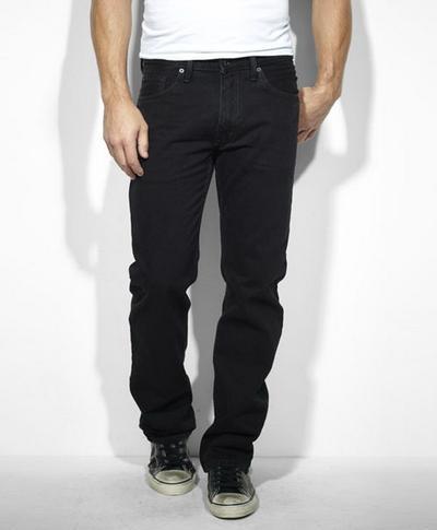 Levis 00505- 0260 Regular Fit Jeans Black