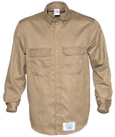 Spentex Fr Twill Button Down Work Shirt