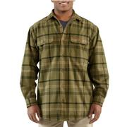 Carhartt 100081 Youngstown Thermal Lined Flannel Shirt Jac