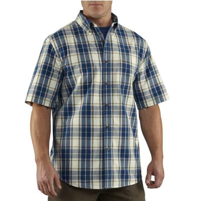 Carhartt 100386 Mens Essential Plaid Shirt