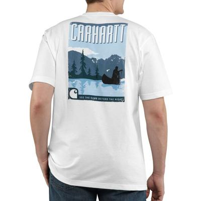 Carhartt 100399 Mens Canoe Graphic T Shirt