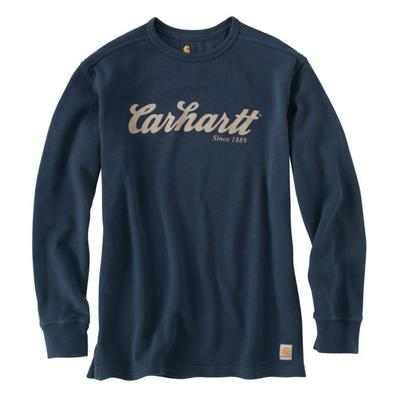 Carhartt 100569 Textured Knit Script Graphic