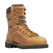 Danner 17317 Quarry Distressed Brown Waterproof Alloy Toe Work Boot