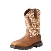 Ariat 10022968 WorkHog Patriot Steel Toe Work Boot