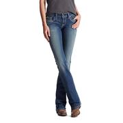 Ariat 10017510 REAL Denim Women's Entwined Boot Cut Medium Wash Jeans