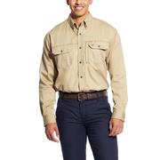 Ariat 10025402 FR Solid Vent Work Shirt