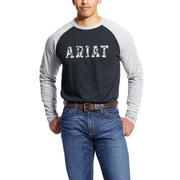 Ariat 10025430 FR Baseball Logo T-Shirt