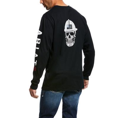 Ariat 10026434 Fr Roughneck Skull Logo T- Shirt