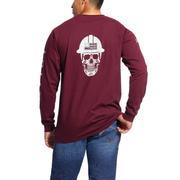 Ariat 10026435 FR Roughneck Skull Logo T-Shirt