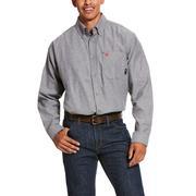 Ariat 10027885 FR Solid Twill DuraStretch Work Shirt