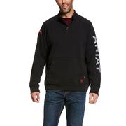 Ariat 10027917 FR Primo Fleece Logo 1/4 Zip Sweater