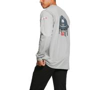 Ariat 10030308 FR American Oil Graphic T-Shirt