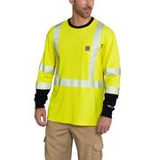 Carhartt 102905 Flame-Resistant High-Visibility Force Long-Sleeve T-Shirt - Class 3