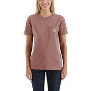 Carhartt 103067 Women's Workwear WK87 Pocket SS T Shirt