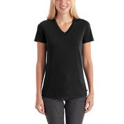 Carhartt 102452 Women's Lockhart Short Sleeve V-Neck T-Shirt