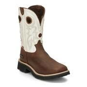 Tony Lama RR3302 Men's Midland White Work Boot