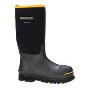 Dryshod STT-UH-BK Neoprene Steel Toe Boot