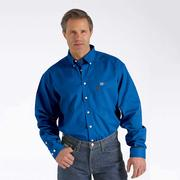 WLW3001011 Men's FR Solid Button Down