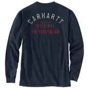 Carhartt 104373  FR FORCE COTTON GRAPHIC LS T-SHIRT